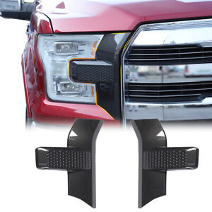 For Ford F150 2015 Car Front Bumper Headlight Grille Cover Trim Accessories Red