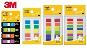 3m Post it Flags Repositionable Bookmark Sticky Note Memo Index Colorful 4 5 6 8