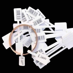 100 500pcs Jewelry Ring Bracelet Necklace Price Label Sticker Display Tags