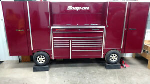 Snap On Pit Box Tool Wagon Tool Box With 2 Extra Side Lockers