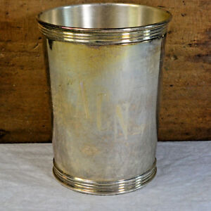 Brown Forman 14yr Service Sterling Silver Mint Julep Cup 3759 By Manchester 1968