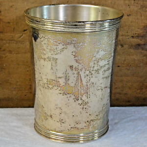 Brown Forman 12yr Service Sterling Silver Mint Julep Cup 3759 By Manchester 1966
