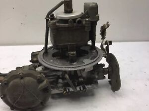 Old Style Holley 12 r4129b Tea Pot Style 4bbl Carb Used Rebuild Only