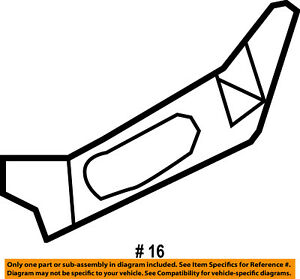 Ford Oem 2007 Explorer Sport Trac Front Seat Side Trim Right 6l2z7862186caa