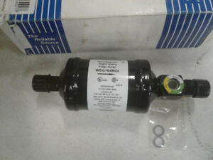 Liquid Line Filter Drier With Sight Glass Wsg164 Work With 134 A Refrigerant