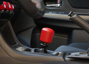 Shiftevo Custom Wrinkle Red Block 270 Gram Weighted Heavy Shift Knob 10x1 25mm