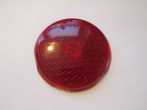 1937 1938 Desoto Dodge Plymouth Rear Tail Light Lens Kd 272 Nos Free Shipping