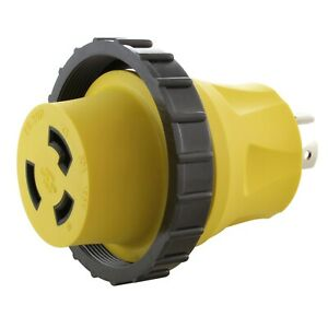 20 Amp Nema L14 20p To 30 Amp Nema L5 30r Rv marine Plug Adapter By Ac Works