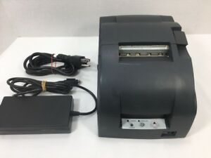 Epson Tm u220pd M188d Kitchen Receipt Printer Power Cords
