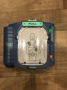 Philips Medical Systems Heartstart M5066a Defibrillator Hs1 With Case