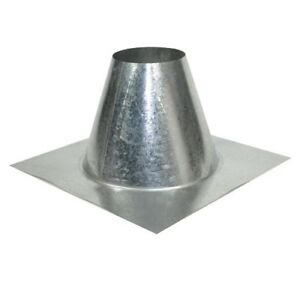 Galvanized Metal Roof Flashing 8 Pipe For Flat Roof