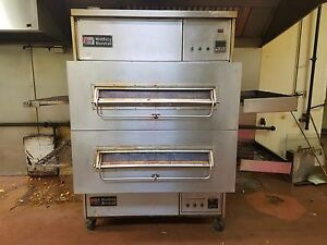 Middleby Marshall Ps360s Conveyor Pizza Ovens Double Stack Natural Gas Oven