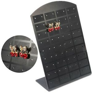 25x Jewelry Holder Organizer Earrings Display Stand For 36 Pairs fast Tracking
