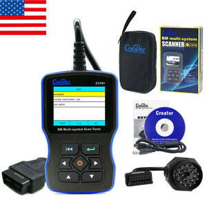 Creator C310 Airbag abs srs Diagnostic Tool Bmw Code Reader Engine Oil Reset