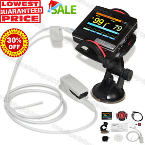 New Contec Touch Screen Fingertip Pulse Oximeter Spo2 Probe Pm60a Card Reader