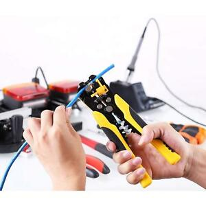 FIXKIT Self-Adjusting WireCable Stripper 8-Inch Automatic Wire Stripping Tool