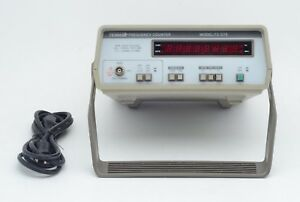 Tenma 72 375 0 1 120 Mhz Desktop Bench Frequency Counter W Power Cable Tested