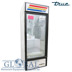 True Gdm 26f Glass Door Merchandiser Freezer Frozen Dinners Veggies Ice Cream