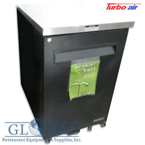 Turbo Air 24 Bar Cooler Single Solid Door 7 5 Cu ft Tbb 1sb