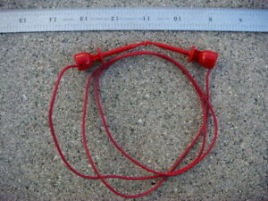 Lot Of Ten 10 36 Red Ez hook Test Leads 204 36w Red New And Unused