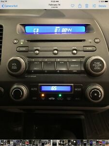 2006 2007 2008 2009 2010 2011 Honda Civic Cd Mp3 Player Radio Oem