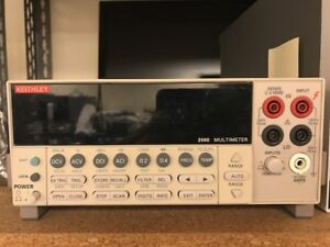 Keithley 2000 6 5 Digit Multimeter Great Condition 30 Days Warranty For Exchange