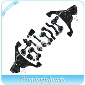 Complete 12x Front Rear Suspension Kit Tie Rods For 2005 2013 Nissan Frontier