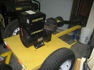 Tiger power Pto30 30 Kw Trailer mounted Pto Generator