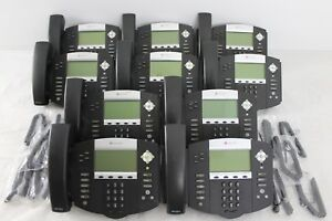 Lot Of 10 Polycom Soundpoint Ip 560 Ip560 Sip 2201 12560 001 Phones