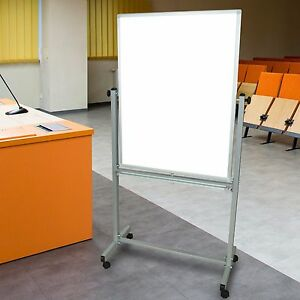30 Rolling Magnetic Whiteboard Stand Dry Erase Board Portable Whiteboard Easel