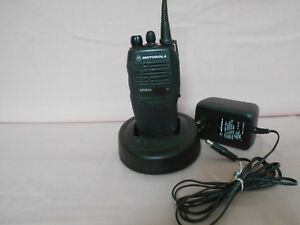 Motorola Mtx850 800mhz 3w 16ch Portable Radio Charger Power Supply
