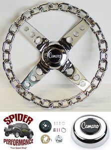1967 Camaro Steering Wheel 11 Chrome Chain