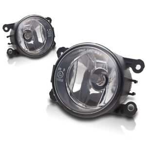 For 2012 2015 Fiat 500 Replacement Fog Lights Front Bumper Lights Clear