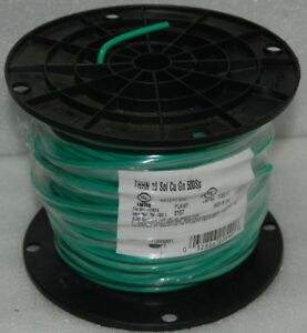 Thhn 10 Gauge Solid Copper Ground Wire 500 Ft