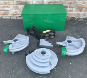 Greenlee 555 Bending Bender Emt Shoe Group 1 2 2 Nice Set 3
