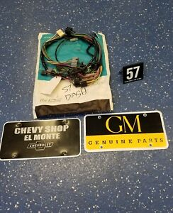 1957 Bel Air nomad Dash Wiring Harness nos Gm Part 2968243
