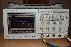 Agilent Dso81204a 12ghz 40gs s Infiniium Digital Oscilloscope Megazoom Options