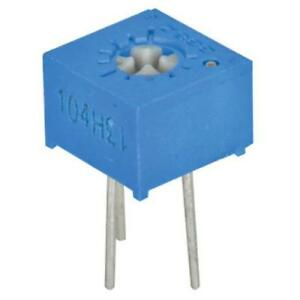 10pk Potentiometer 100k Ohm 3362p 104lf Single Turn 5 Watt Cermet