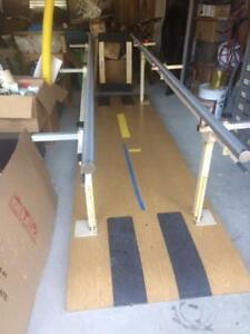 Physical Therapy Bariatric Parallel Bars Laberne Mfg