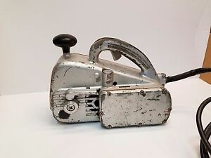 Vintage Sears Craftsman Locomotive Belt Sander 6 Amp 115 Volt Model 207 2230