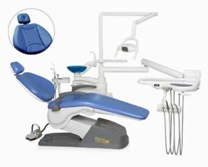 Dental Unit Chair Fda Ce Approved C3 Model Soft Leather Tk