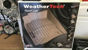Weather Tech Floor Liner Toyota Camry 2014 2017 Front And Rear Set Black