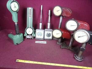 Federal Comtgage Dial Indicator Bore Gage Lot Of 8 Pc Loc6493