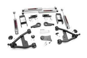 Chevy S10 Pickup Blazer 2 5 Suspension Lift Kit 82 04 Rough Country