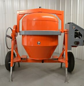 Champ Equipment Mfg C7000 Concrete Cement Mixer 21 Cf 15 Hp Electric Powered