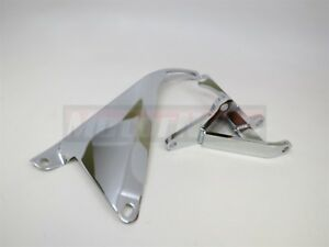 Bbc Chrome Alternator Bracket Set Swp Bb Chevy 396 427 454 502 Short Water Pump