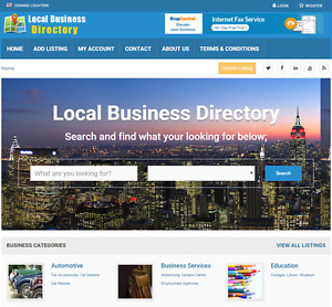 Business Directory Profitable Website For Sale Hosting Included