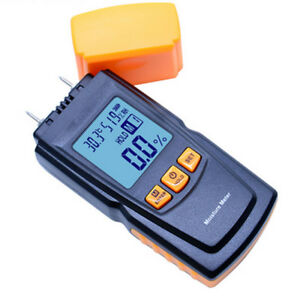 Gm620 Digital Wood Moisture Meter 2pins Humidity Tester Timber Damp Detector