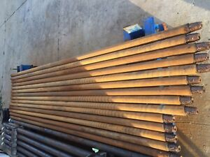 Used Hdd Drill Pipes For Vermeer 16x20 bundle 10 Rods Fsi Compatible