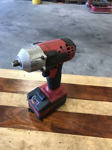 Snap on 18v Ct8810 3 8 Cordless Impact Wrench Battery Pack Used Works Great